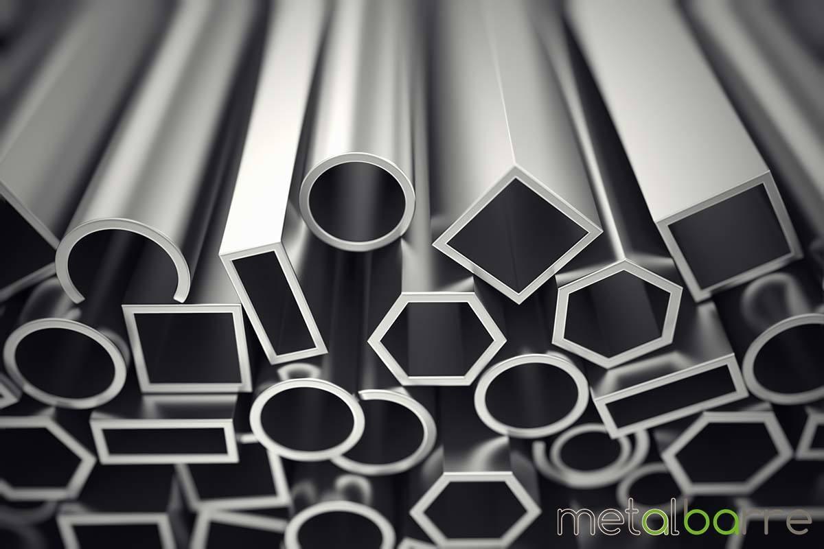 Barre e tubi in alluminio
