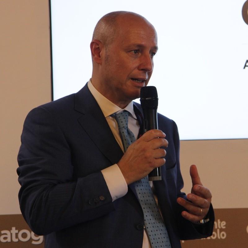 Il presidente di Lariofiere, Fabio Dadati
